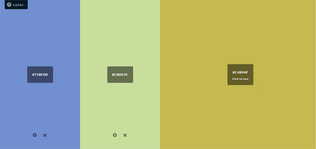 Outils pour webdesigners Screen 01
