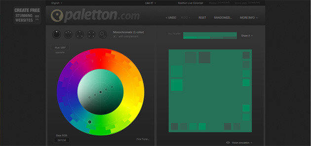Outils pour webdesigners Screen 05