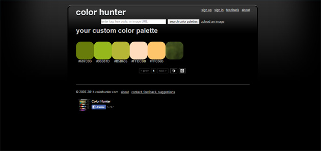 Outils pour webdesigners Screen 07