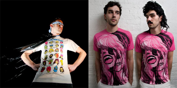 Tee-shirts design sur internet - inspiration design
