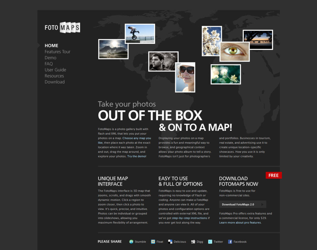 Du webdesign entiérement noir - inspiration design