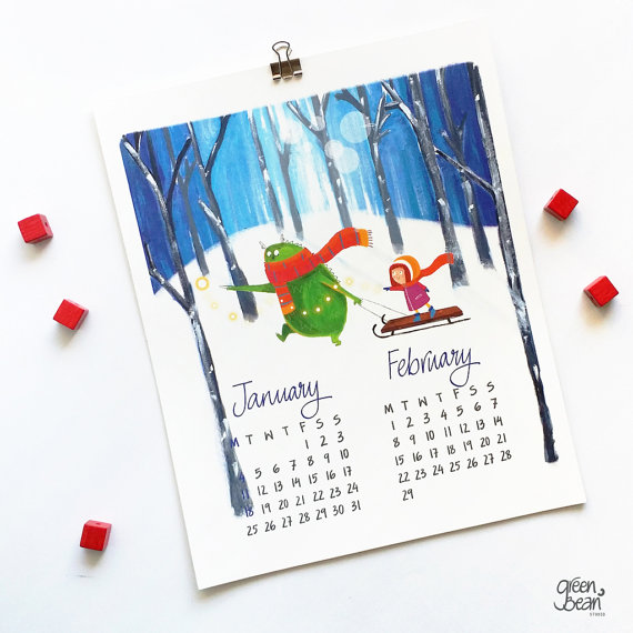 Calendrier 2016 exemple 18 image 1